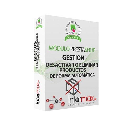 MODULO PRESTASHOP INFORMAX DESACTIVARELIMINAR PRODUCTOS