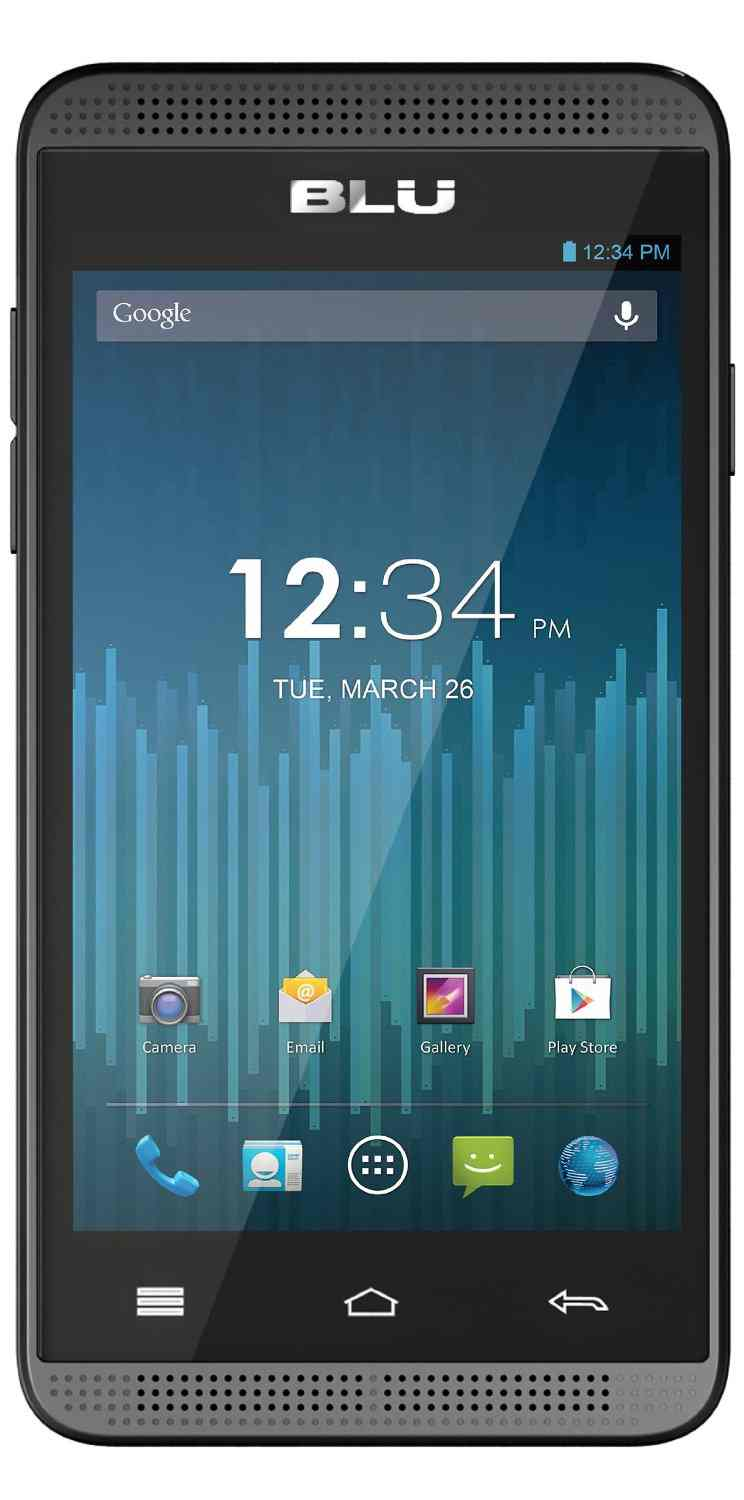 Movil Blu Dash Music 40 D272i Dual Sim Plata