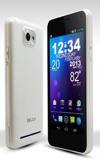 Movil Blu Vivo 48 Hd D940i Blanco