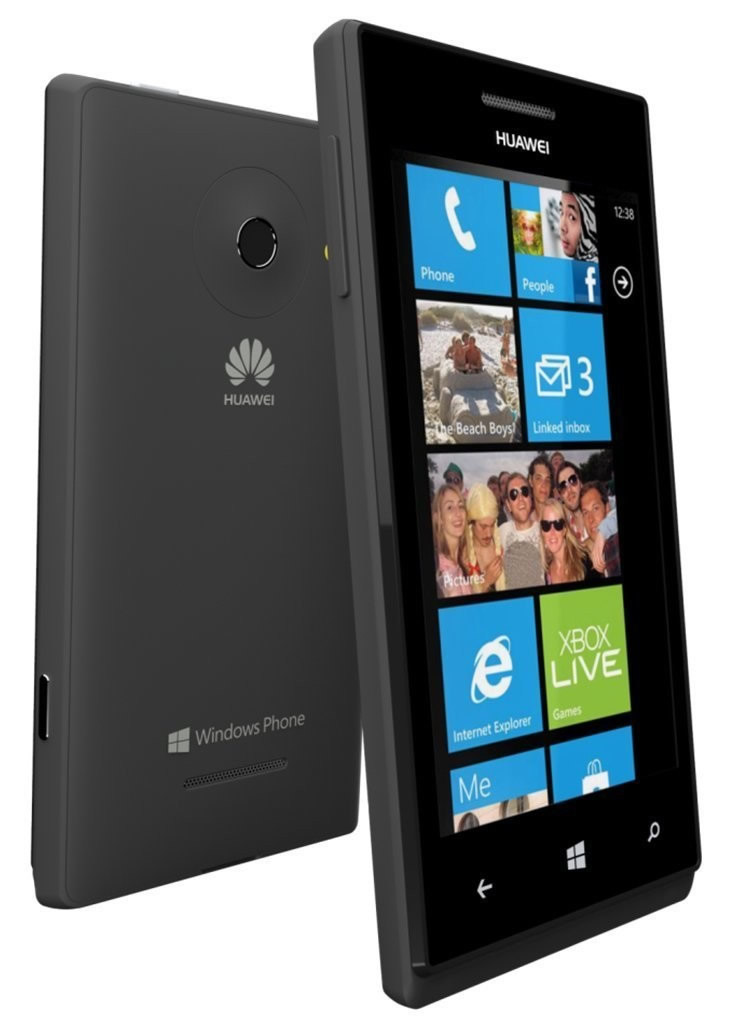 Movil Huawei Ascend W1 Negro Windows Phone