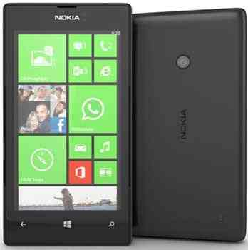 Movil Nokia Lumia 520 Negro
