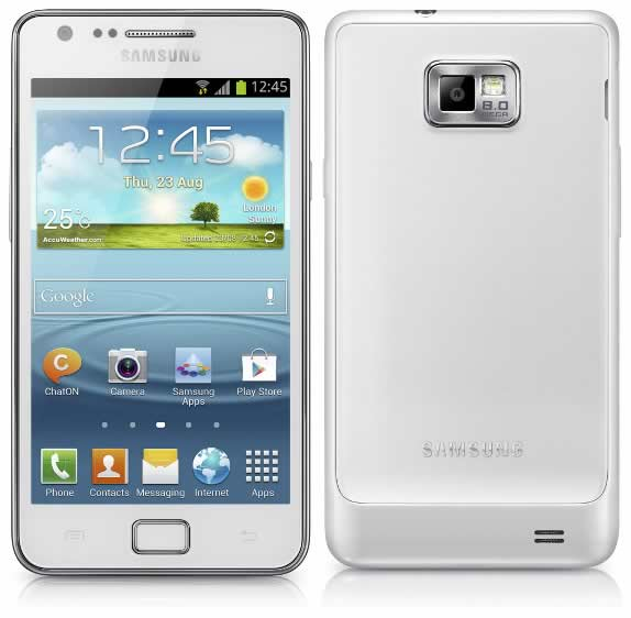 Movil Samsung Galaxy S2 Plus I9105p Blanco