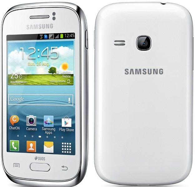 Movil Samsung Galaxy Young Duos Blanco S6312