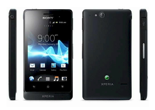 Movil Sony Xperia Go St27i Negro