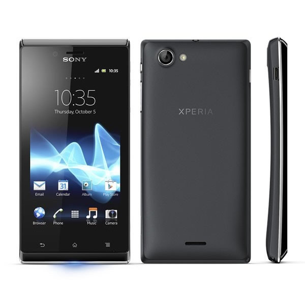 Movil Sony Xperia J St26i Negro