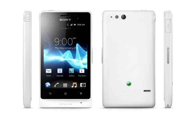 Movil Sony Xperia Miro St23i Blanco
