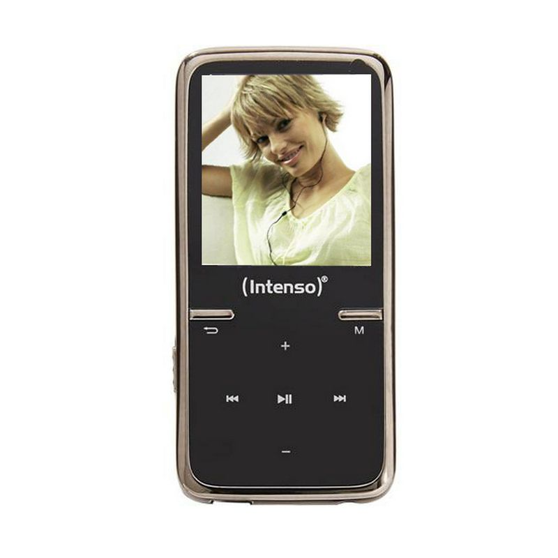 Mp3 8gb Intenso Video Scooter Negro Auricular