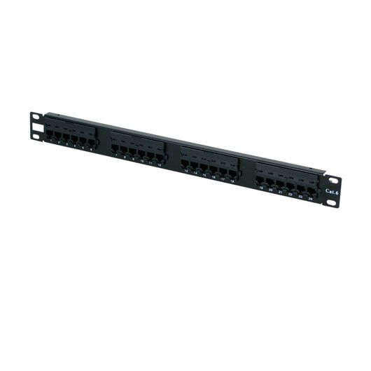 Ver PANEL DE TRANSFERENCIA RACK 1U 24P CAT6 PHASAK