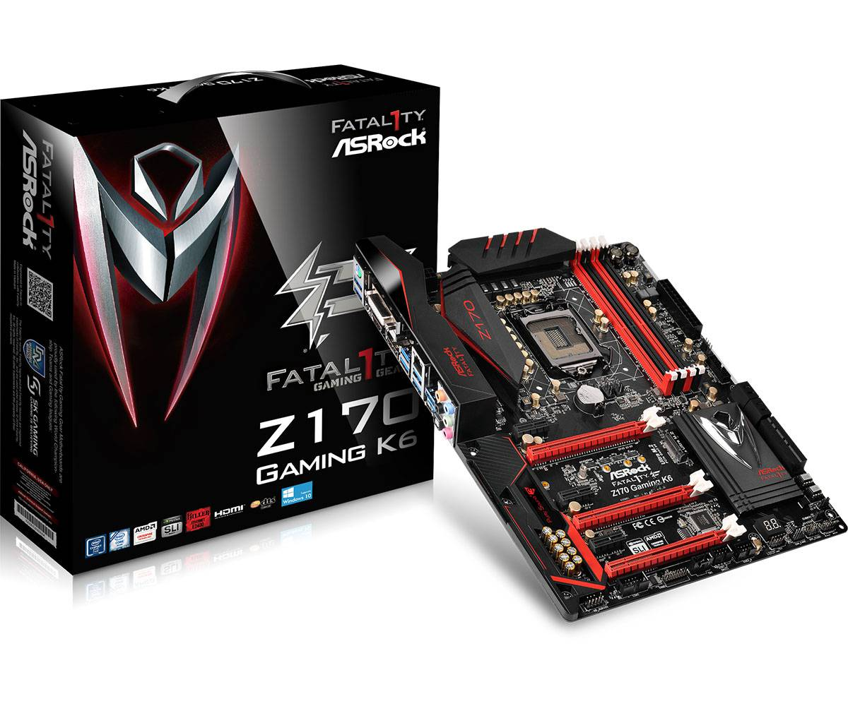 Ver ASROCK Z170 GAMING K6 PLUS