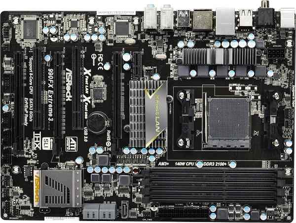 Placa Base  Asrock Am3  990fx Extreme3