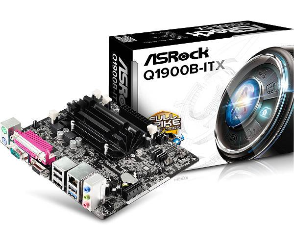 Ver ASROCK Q1900B ITX CPU INTEL QUAD CORE