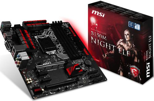 Ver MSI B150M NIGHT ELF