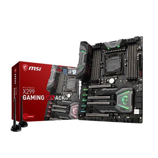 Ver MSI X299 GAMING M7 ACK