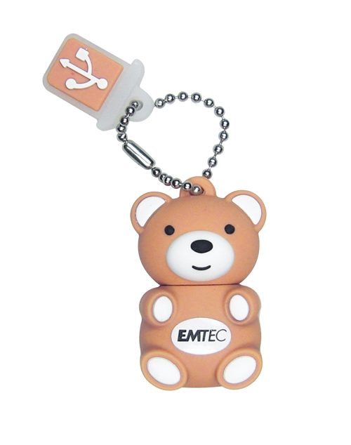 Pendrive 8gb Usb20 Emtec M311 Oso Teddy
