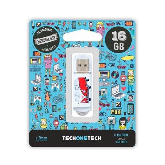 Pendrive 16gb Tech One Tech Camper Van Van