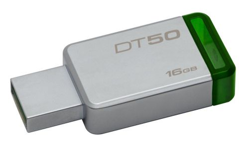 Ver KINGSTON DT50 16GB USB 3 1 VERDE
