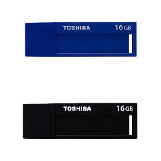 PENDRIVE 16GB USB30 TOSHIBA DAICHI PACK 2 UDS NEGRO AZUL