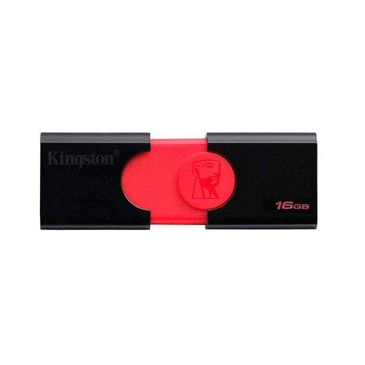 Ver KINGSTON DT 106 NEGRO ROJO 16GB USB3 1