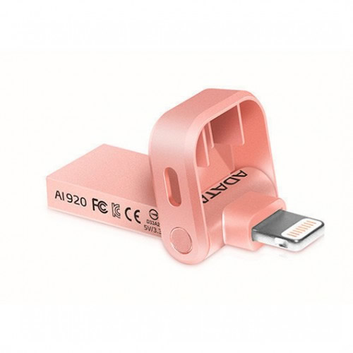 Ver PENDRIVE 32GB ADATA I MEMORY AI920 ROSE GOLD