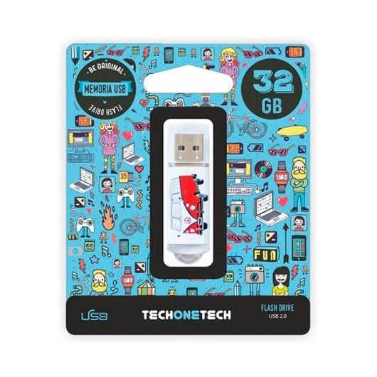 Pendrive 32gb Tech One Tech Camper Van Van