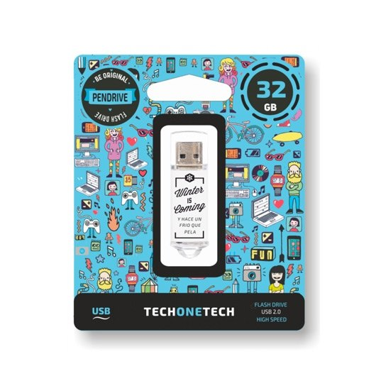 Ver PENDRIVE 32GB TECH ONE TECH WINTER IS COMING