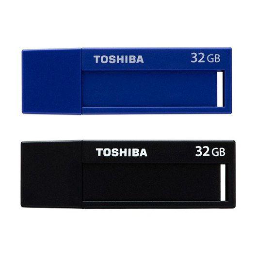 PENDRIVE 32GB USB30 TOSHIBA DAICHI PACK 2 UDS NEGRO AZUL
