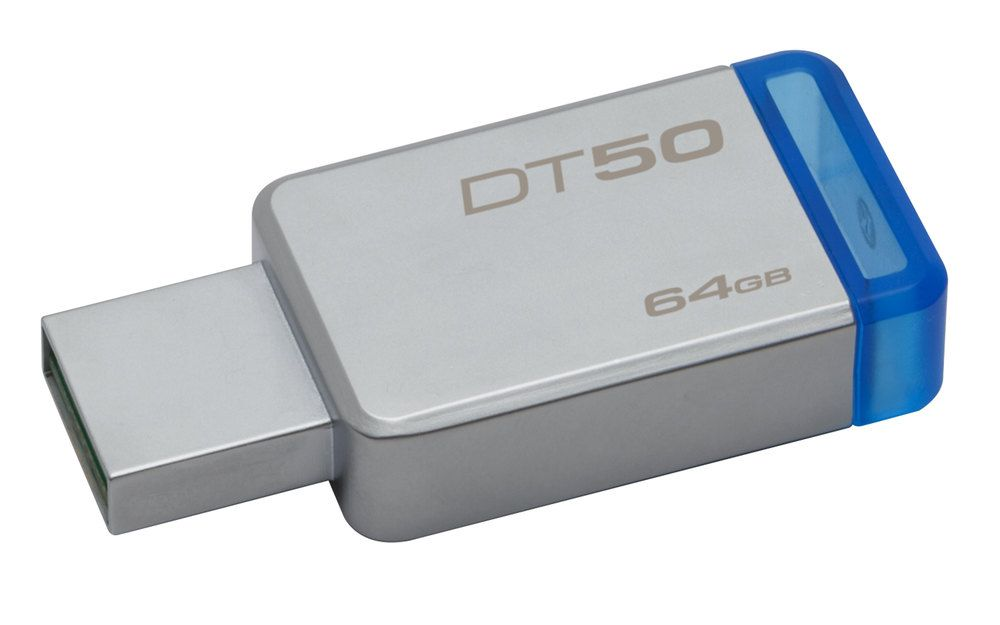 Ver KINGSTON DT50 64GB USB 3 1 AZUL