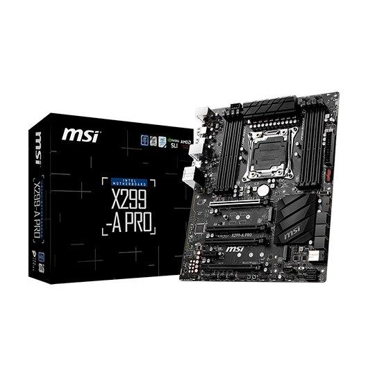 Ver MSI 2066 X299 A PRO