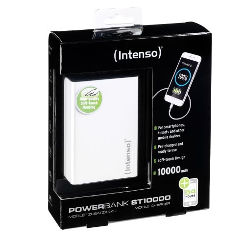 Ver POWERBANK INTENSO ST10000 BLANCO