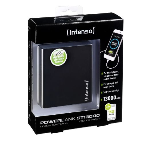 Ver POWERBANK INTENSO ST13000 NEGRO