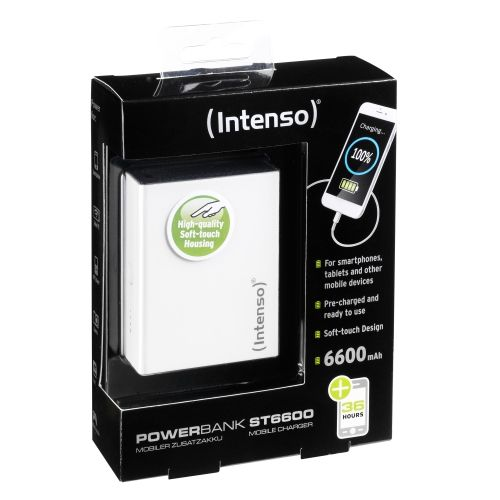 Ver POWERBANK INTENSO ST6600 BLANCO