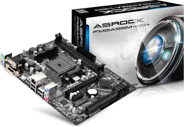 Placa Base Asrock Fm2  Fm2a55m-hd