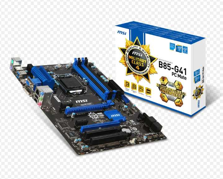Ver Placa Base MSI 1150 B85 G41