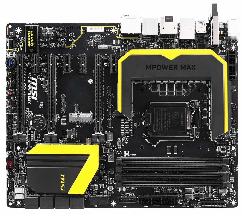 Placa Base Msi 1150 Z87 Mpower