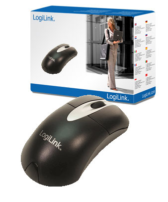 Raton Optico Logilink Scroll Negro Id0011