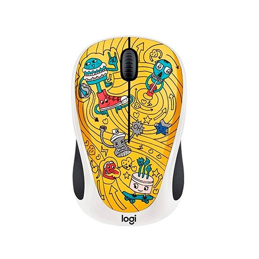 Ver LOGITECH M238 WIRELESS GO GO GOLD