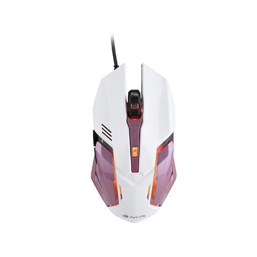 Raton Optico Ngs Gaming Gmx 100 Rosa