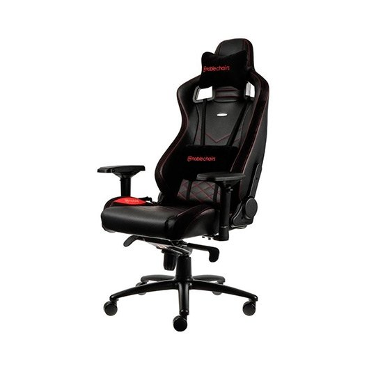 Ver SILLA GAMING NOBLECHAIRS EPIC NEGRO ROJO
