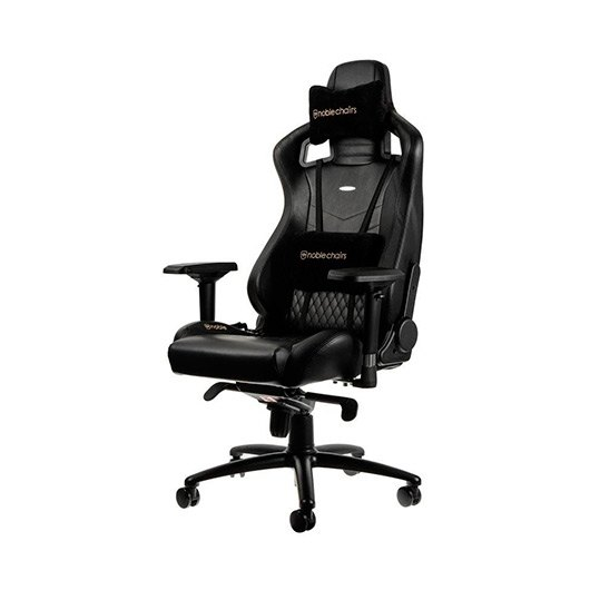 Ver SILLA GAMING NOBLECHAIRS EPIC REAL LEATHER NEGRO