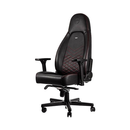 SILLA GAMING NOBLECHAIRS ICON NEGRO ROJO