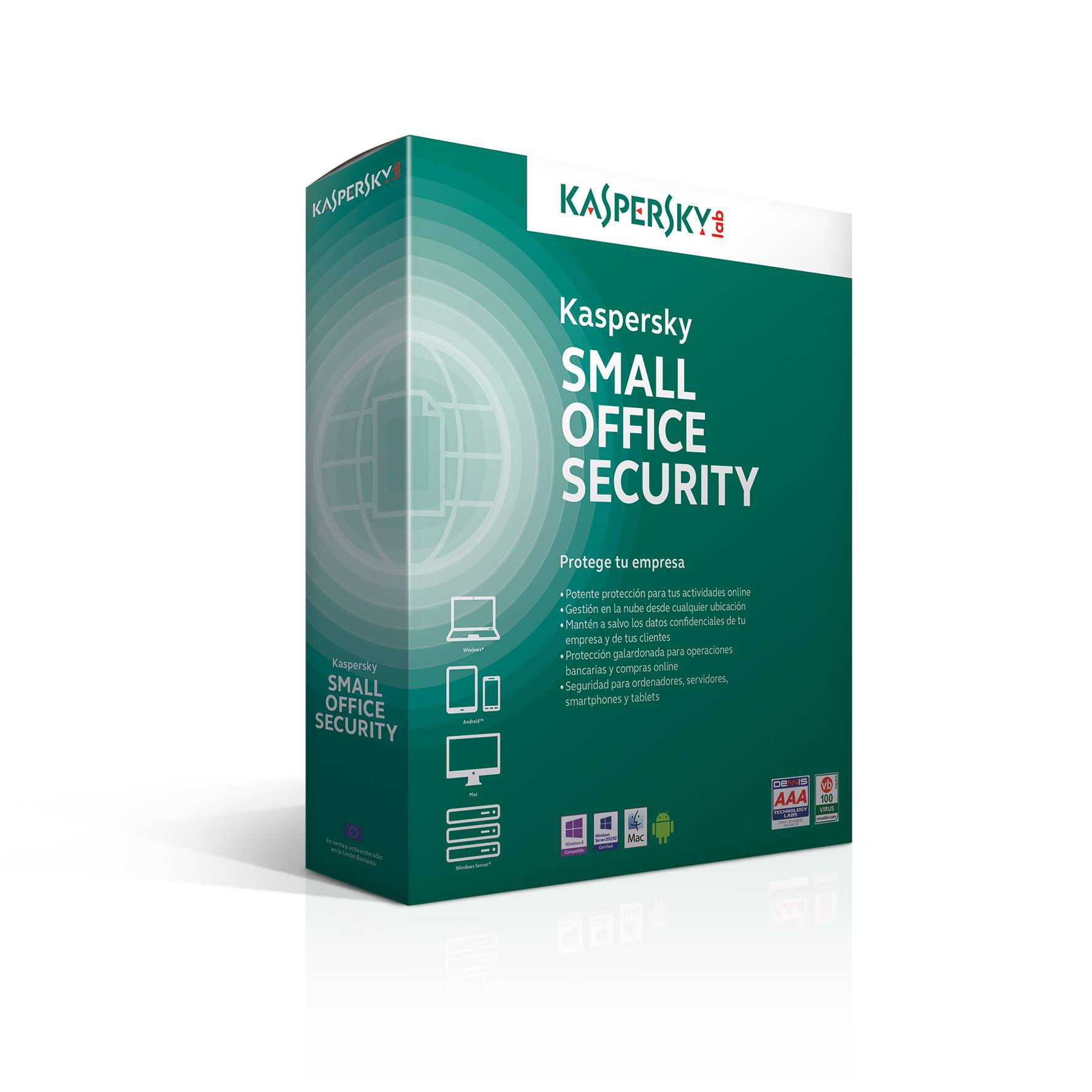 Ver KASPERSKY SMALL OFFICE SECURITY 40 10 Usuarios