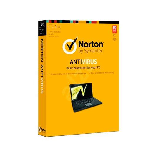 Ver NORTON ANTIVIRUS BASIC 10 ES 1 USER 1 DEVIC