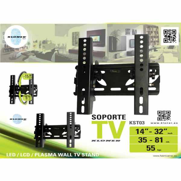 Ver SOPORTE TV KL TECH DE 14 A 32 KST3