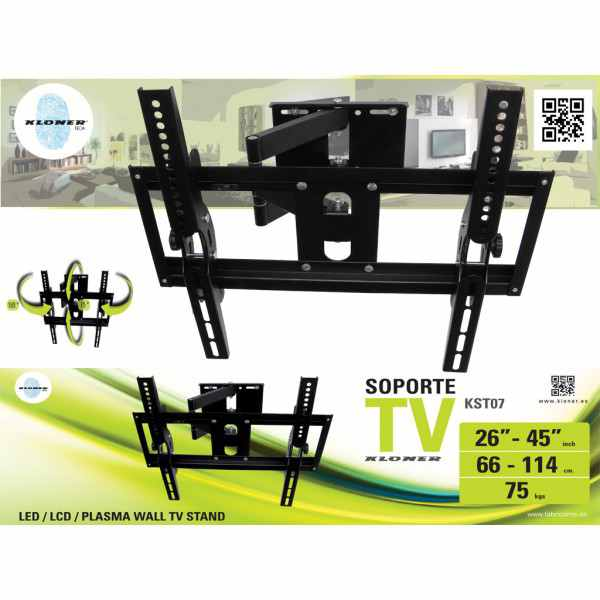 Ver SOPORTE TV KL TECH DE 26 A 45 KST7