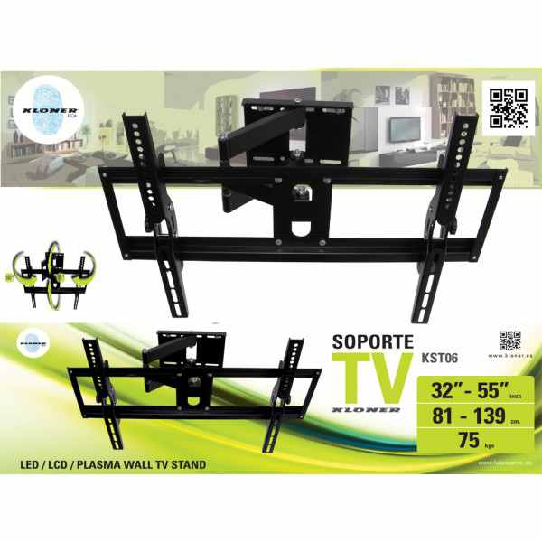 Soporte Tv Kl Tech De 32 A 55 Kst6