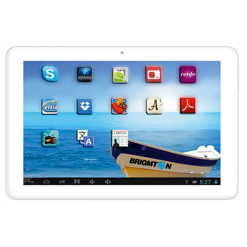 Tablet Brigmton 101 Btpc 1012 Qc B 8gb Blanco