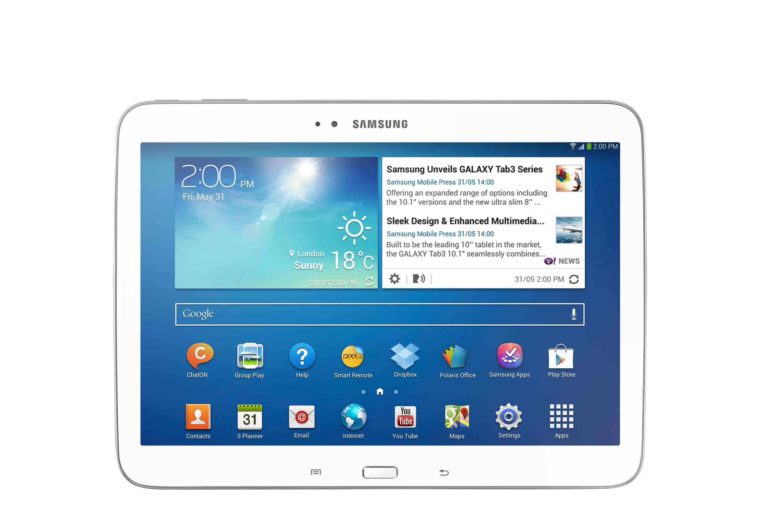Ver TABLET SAMSUNG 101 GALAXY TAB3 16GB 4G BLANCO