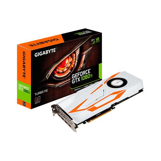 Ver GIGABYTE GTX 1080 TI TURBO 11GB GDDR5X