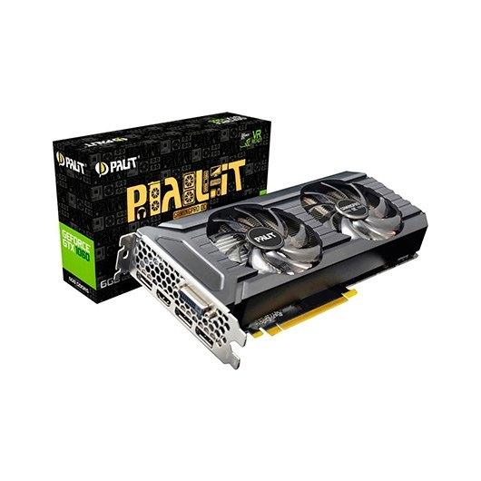 PALIT GTX1060 GAMING PRO OC 6GB GDDR5