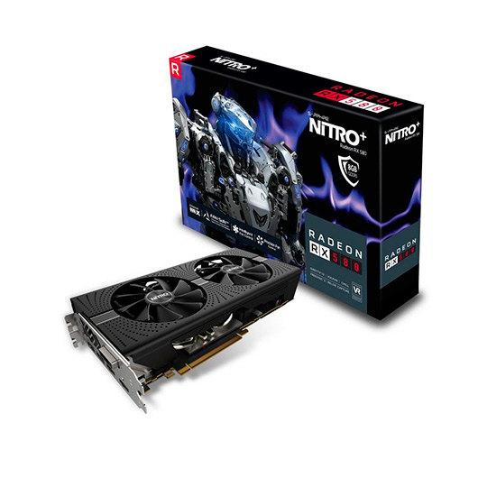 SAPPHIRE RX580 NITRO 8GB GDDR5